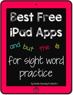 Best FREE iPad apps for sight word practice