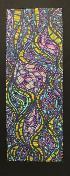 Zentangle Art--organic line
