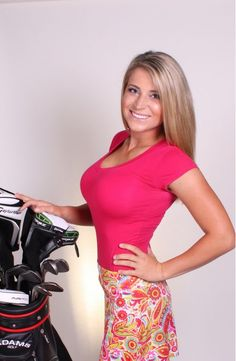 I think I'm going to watch more women's golf in 2014 - Meghan Hardin Our Residential Golf Lessons are for beginners,Intermediate & advanced… Sexy Golf, Girls Golf, Ladies Golf, Meghan Hardin, Lpga Golf, Golf Lessons, Female Athletes, Female Golfers, Golf Fashion
