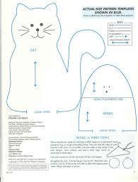 Resultado de imagen de gatos patchwork PATRONES