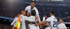 Zinedine Zidane's Real Madrid side scored their 100th LaLiga goal at the Camp Nou | Real Madrid CF