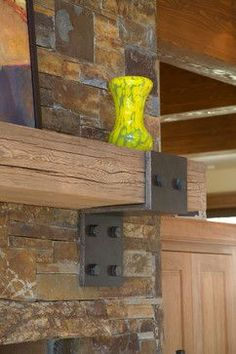 Rustic Mantel Design Ideas, Pictures, Remodel, and Decor - page 15