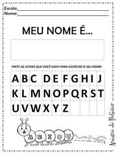 All About Me Book, Preschool Art, Little Sisters, Gabriel, Activities For Kids, Teaching, Writing, Pre School, Blog