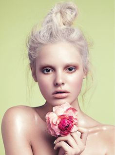 paige reifler model6 Flower Girl: Paige Reifler for Elle Vietnam Beauty by Stockton Johnson