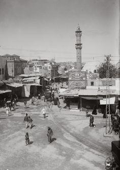 The Marketplace: Jaffa, Palestine 1900-1920