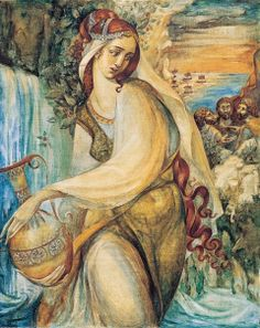 "Oksana Chaus illustration for ""The Voyage of Odysseus""."
