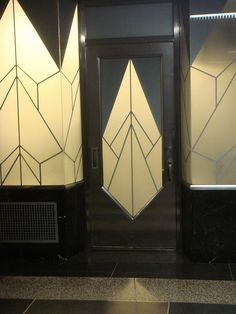 Deco detail is everywhere in the basement of the Chrysler Building by bitchcakesny, via Flickr