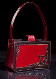 Cool leather purse for Erin