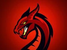 40 best dragons logos