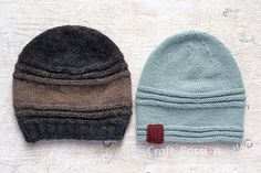 Easy Beanie Pattern  (2 Options)