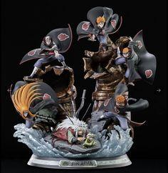 Jiraiya One last heartbeat HQS Statue by Tsume Art - Naruto Shippuden Naruto Uzumaki, Gaara, Anime Naruto, Art Naruto, Madara Uchiha, Sasuke Sakura, Manga Anime, Figurine Naruto, Figurine Anime