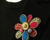 Flowers & Wool & Zippers