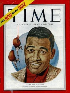Joe Louis TIME magazine cover art by Ernest Hamlin Baker. © Image is copyright of its respective owner, assignees or others. Sugar Ray Robinson, Time Magazine, Magazine Covers, Jet Magazine, Boxing History, Title Boxing, Super Images, Joe Louis, Boxing Quotes