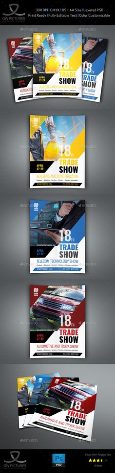 Trade Show Flyer Template