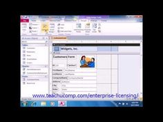 A clip from Mastering Microsoft Access Made Easy:  Adding Line and Rectangle Controls. Get a FREE demo of our training for groups of 5 or more at www.teachucomp.com/enterprise-licensing/  Visit us today! www.teachucomp.com