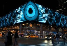 NYC Port Authority Bus Terminal Now Boasts World's Largest LED Media Facade | Inhabitat New York City