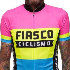 Fiasco Ciclismo Fluro Tricolore Jersey