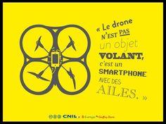 #Noël : 2-3 précautions avant de jouer au #drone ou à la #poupée connectée via @CNIL
