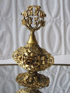 Gold Filigree Perfume, I have perfume bottle just like this.