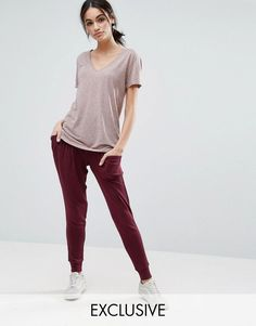 Buy Red Nocozo Joggers for woman at best price. Compare Trousers prices  from online stores like Asos - Wossel Global