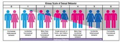 Kinsey scale of sexual behavior!!!!