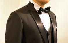 Peak lapel is the most classic choice for a tuxedo. #smokki #helsinki
