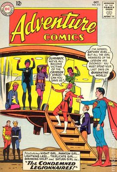 Adventure Comics No.313 - October 1963. Cover Pencils Curt Swan Inks George Klein