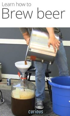 How to brew beer. I'm there...