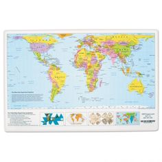 Free Map Of The World | Free Printable World Maps - Outline World ...