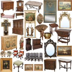 New antique shipment! www.inessa.com #french #antiques