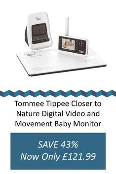 The Digital Video Ba The Digital Video Baby Monitor With Sensor Pad Lets You Keep An Eye And An Ear On Your Bab Baby Monitor Video Monitor Baby New Baby Wishes