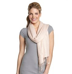 Collection 18 Metallic Swirl Scarf at www.younkers.com