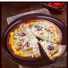 Que tal uma pizza quentinha na forma Ceraflame?! #ceraflame #pizza #saborsaudavel #receita by ceraflame http://ift.tt/1TZSoc8