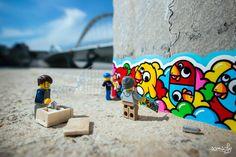 Legography : Les Legos prennent vie !   La Régalerie - http://www.laregalerie.fr/legography-les-legos-prennent-vie/