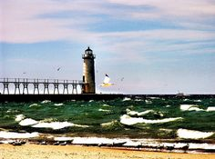 Manistee Lighthouse by Pure Michigan, via Flickr