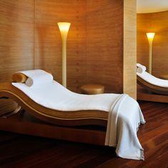 Inviting Spa Treatment Room