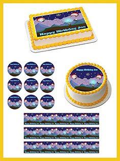 Terraria 3 Edible Birthday Cake OR Cupcake Topper - 3.25' cupcake (6 pieces/sheet) inches