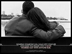 someday someone...