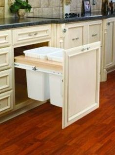 functional kitchen | Functional Kitchen Cabinet Designs for Greater Storage Space ...