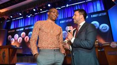 Russell Westbrook, Nerlens Noel rock lucky duds at draft lottery thunderup