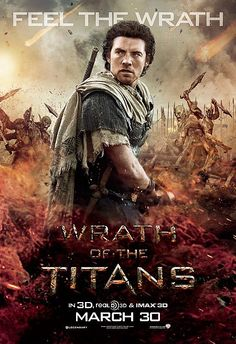Three Wrath of the Titans Posters