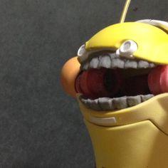 したの歯つけた。ぜんぜんかわいくない