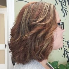 Copper and blonde hilites. Plus 5 Inches off!