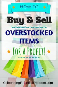 Money Making Idea #15-  How to Buy and Sell Overstocked Items For a Profit!  Large retailers have tons of overstock they sell for pennies on the dollar.  You can take advantage of their loss and make it your gain!  Read how to buy overstock and closeouts, then resell them for a profit!  #overstock #closeouts #buy #sell   http://www.cfinancialfreedom.com/money-making-idea-how-to-buy-sell-overstock