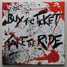 Gonzo Ralph Steadman buy the ticket. 40cm x by PictureThatArtwork