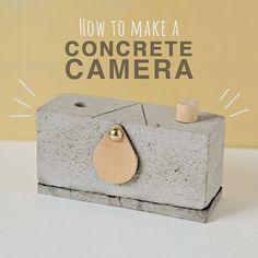 Фотоаппарат из бетона!