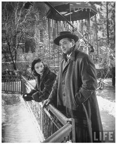 Janet Leigh & Robert Mitchum
