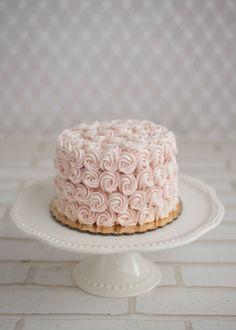 Pink Cake - Baby Shower Dessert Ideas//
