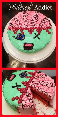 And I do believe we have found Q's bday cake for this year... Zombie Cake