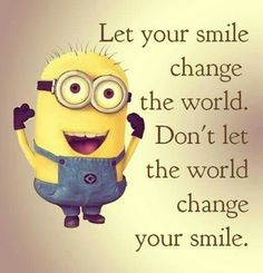 Let your smile change the world!